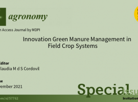 Agronomy Journal Flyer
